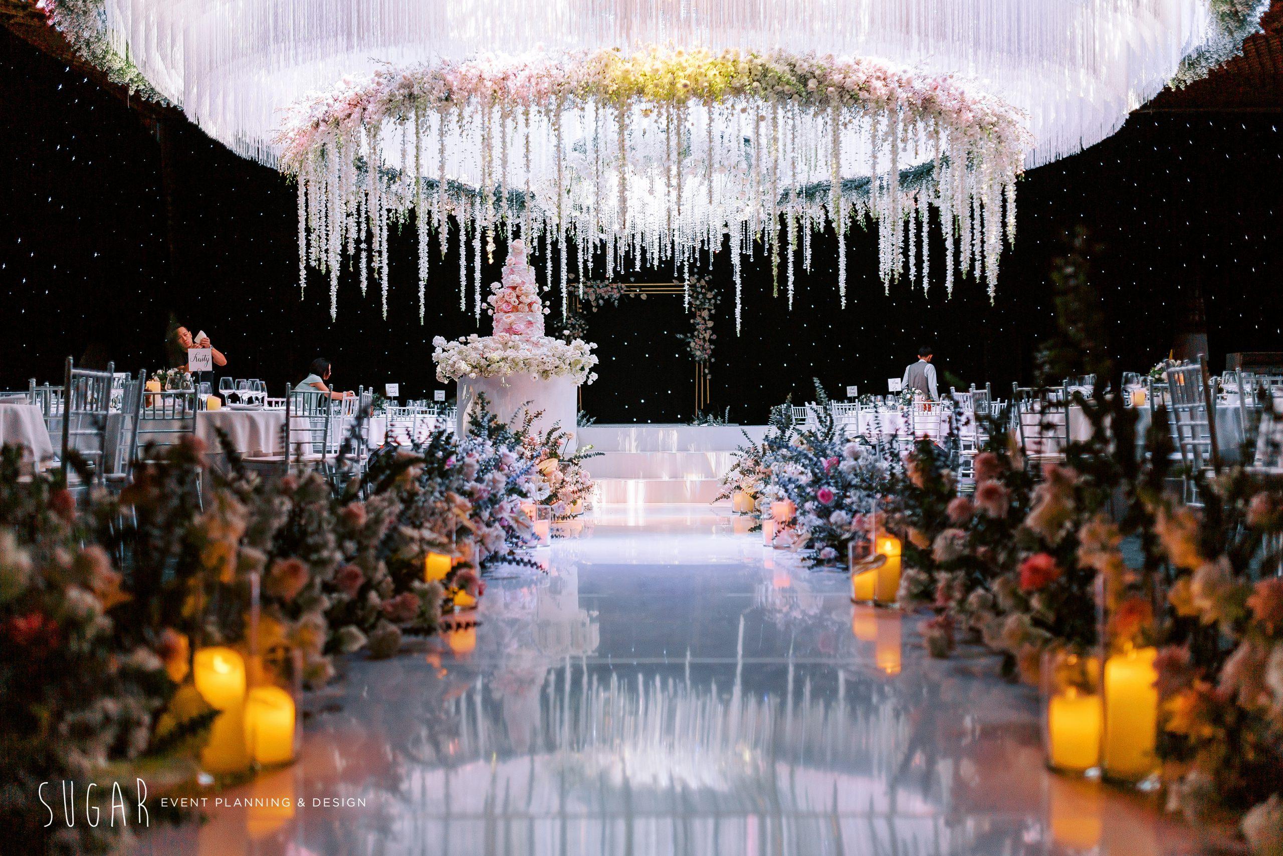 Moonlight wedding concept